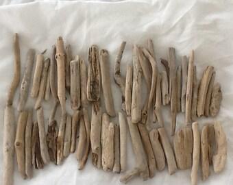Large bundle of driftwood