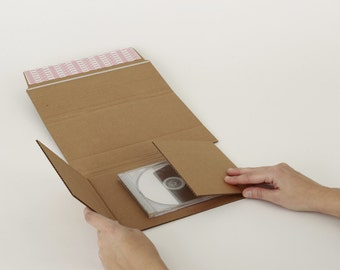 CD/Paperback Book TWrap Protective Shipper