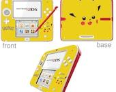 Pokmon Pikachu Vinyl Skin Sticker for Nintendo DS liteDSiDSi xl3DS3DS xlNew 3DS cstickNew 3DS xl cstick2DS