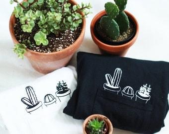 Cactus Pocket Tee