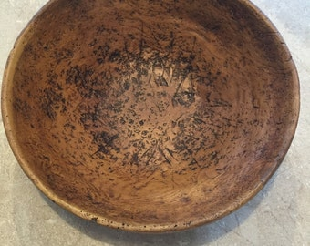 Antique Burl Bowl