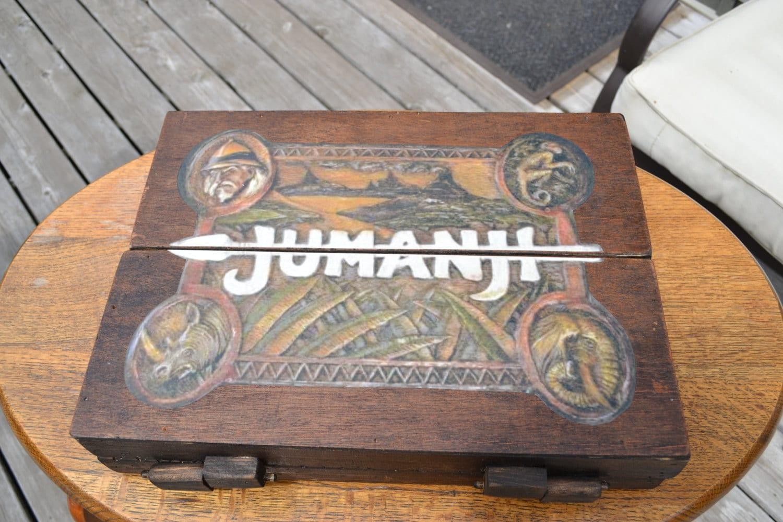 Jumanji 1:1 Scale Wooden Board Game Prop Replica