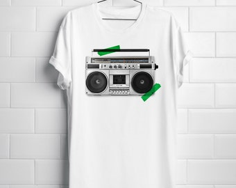 Tape Recorder Hipster T-shirt