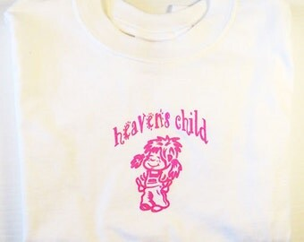 HEAVEN'S CHILD Logo SHIRTS of cute little girl