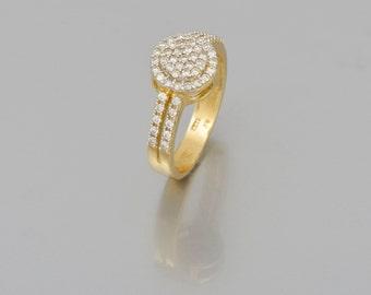 14 k gold engagement ring Diamond 1.00 CT