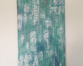 """ABSTRACT CANVAS - """"Brushed"""""""