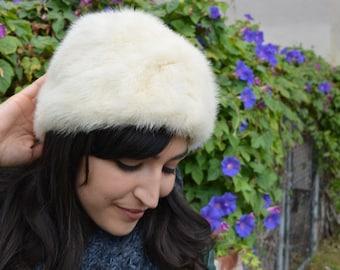 Vintage 70s Fur Hat
