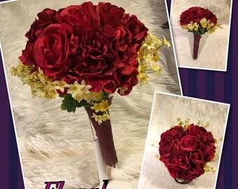 Handmade Wedding Bouquet *Rose*