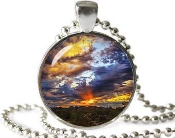 Beautiful Sky Necklace Pendant Arizona Sky Jewelry