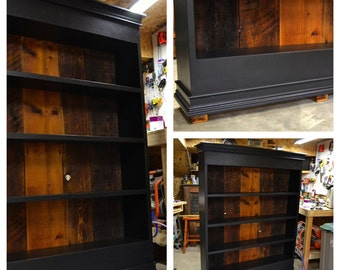 Reclaimed Barn Wood Bookcase