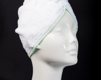 Mint Classic Collection - The Ultimate Hair Towel by Itza Products : Superior Quality Terry cloth