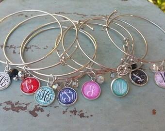 KC's Best Selling Monogram Charm Bracelet