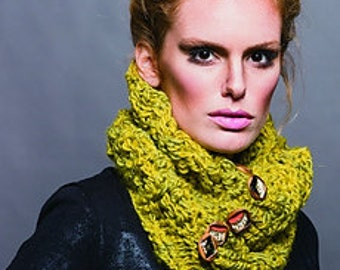 lemon cowler / / scarf infinite / / female / / male / / handmade / / unisex