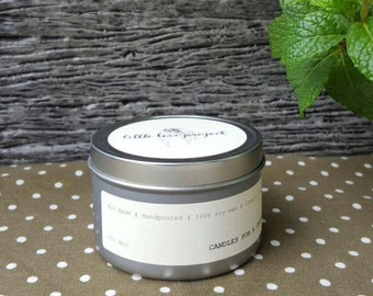 Hot Toddy - hand poured soy travel tin candle