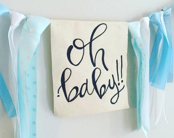 Oh Baby!! Baby Shower Bunting/Banner