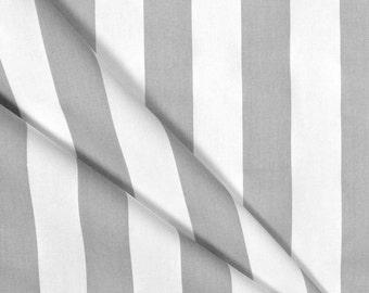Gray Curtains Modern Stripe Curtain Panels Grey and White Coastal Home Decor Kitchen Living Room Decor Drapes