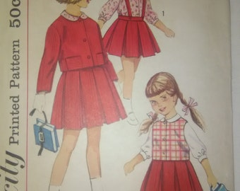 Simplicity 4121, Vintage, Toddler, Dress Pattern