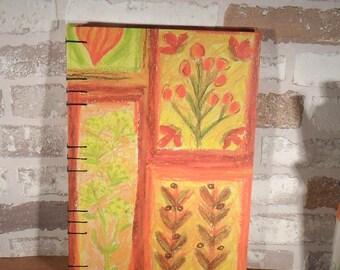 Notebook A5 autumn / / journal / / gift / / recipes / / memories