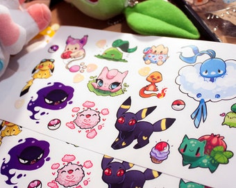 Cute Pokemon vinyl Stickers #8
