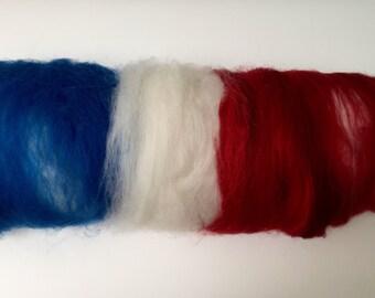 Batt to the tour de France / tour de fleece chubut/merino 50 g