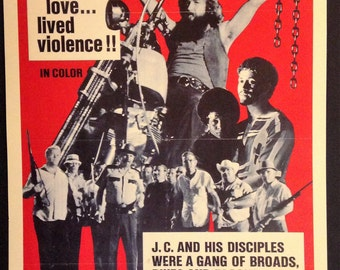 "J.C. Movie Poster 12""x18"""