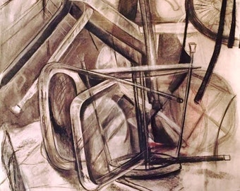 Chair collage (multiple viewpoints) 30x44