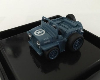 Choro Q Size custom Willys Jeep Hand Made in Japan Rare Free shipping