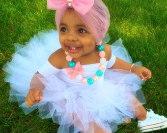 Baby Girl Bubble Gum Necklace