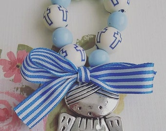 Mini Rosary. Special occasion gift.