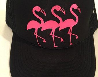Let's Flamingle hat