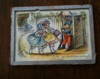 An original beautiful color lithographs of Germaine Bouret ... from the 30s ...