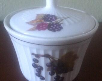 Royal Worcester Evesham Sugar Bowl