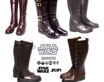 Custom Design Star Wars and Sci Fi Tall Boots