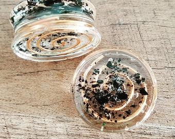 Orgonite Copper Spiral Plugs 30mm
