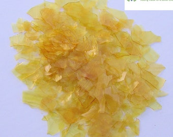 Dewaxed Super Blonde Shellac Flakes 1/8 lb, or 2 oz, Quality, Antique Restoration
