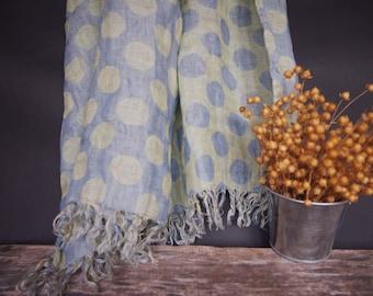 Linen Scarf, Linen Women Accessories, Linen Gift