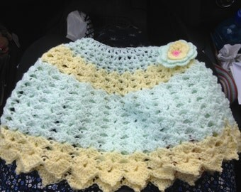 Crocheted Baby Poncho
