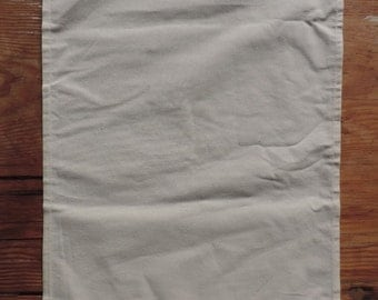 Certified organic fair trade cotton tea towels (plain - 10 pack)