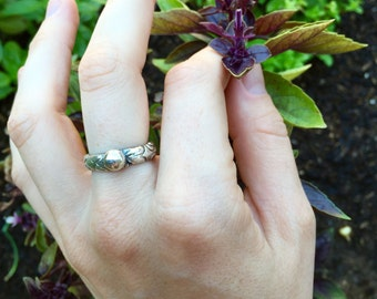 Fine Silver Statement Ring