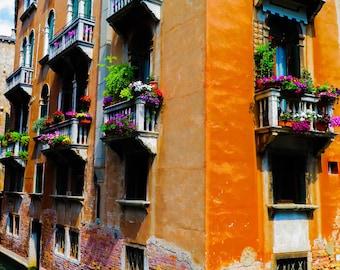 Windows Venice, Italy