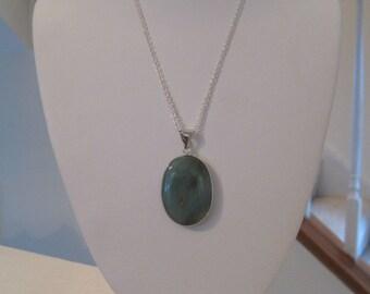 Green Aventurine Gemstone a Necklace