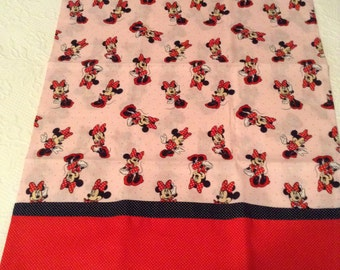Hand made Minnie Mouse pillowcase