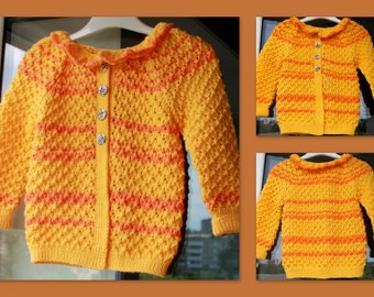 knit lace jacket 2-3 years old girl