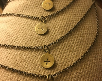 Love symbol necklace