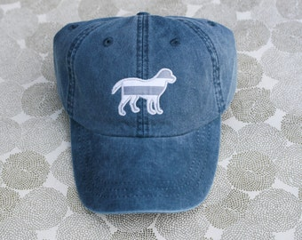 Striped Dog Cap
