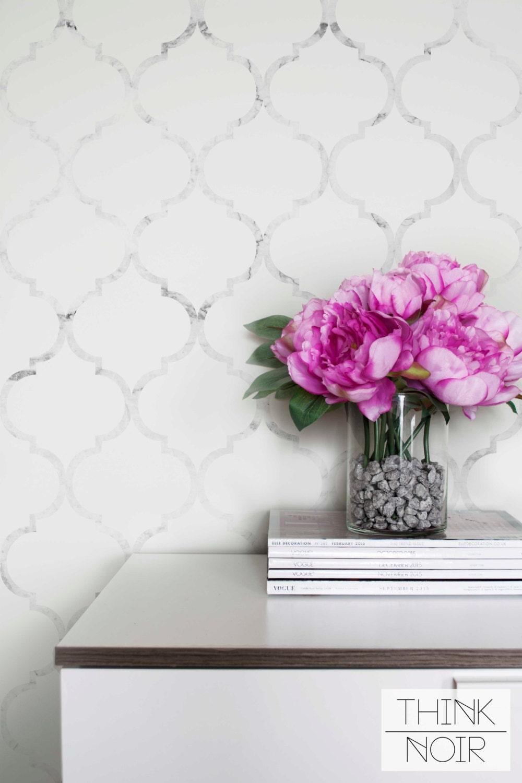 marble moroccan temporary wallpaper moroccan pattern regular
