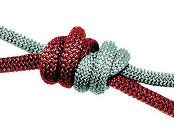 Double Fisherman's Knot Print