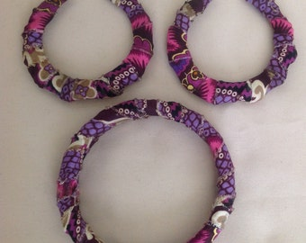 Ankara Jewelry Set (sold in other print)