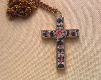 Vintage Mosiac Cross