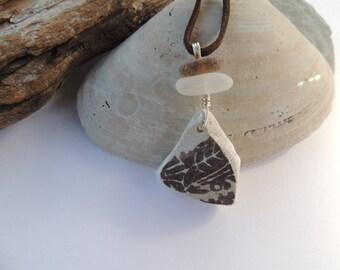 Scottish Sea Pottery Necklace